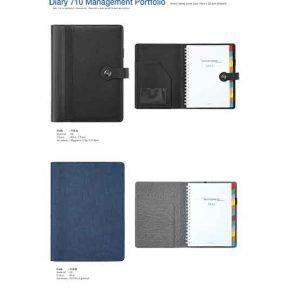 710A-B Diary Management Portfolio