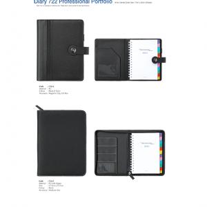 722A-Z Diary Professional Portfolio