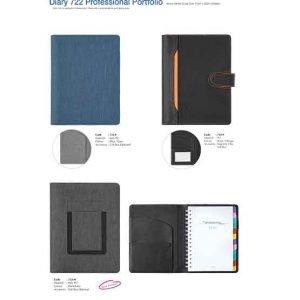 722E-H Diary Professional Portfolio