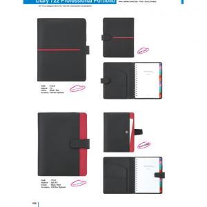 722E-F Diary Professional Portfolio