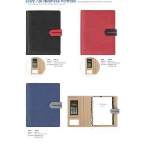 728B Diary Business Portfolio