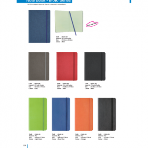 M7-8 Moto Series Note Book