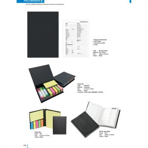 Memo Box-Sticky Pad Accessory