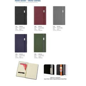 M5 Moto Series Note Book