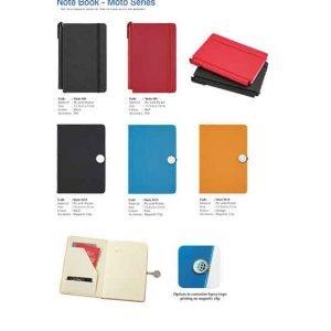 M9-10 Moto Series Note Book