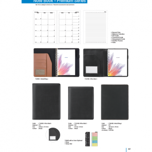 710NB-728NB Premium Series Note Book