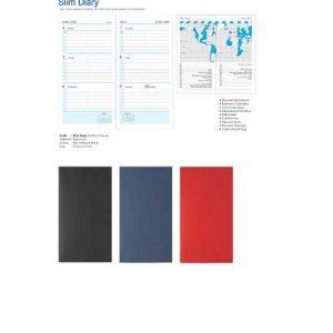 Vertical Format Slim Diary