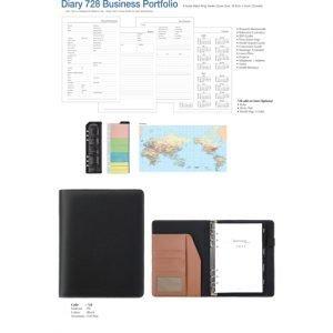 Diary 728 Business Portfolio