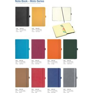 Moto Series Note Book